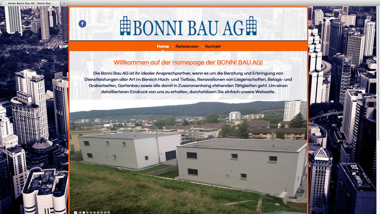 Bonni Bau Webdesign