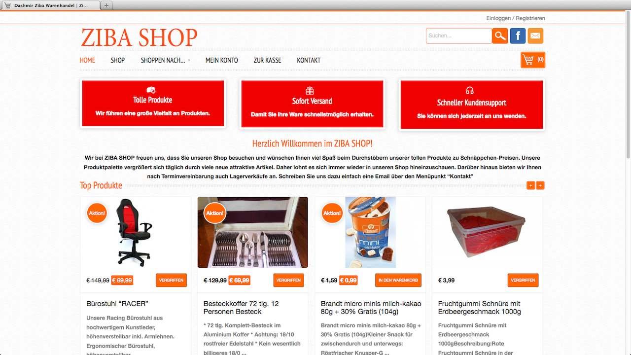 D-Z-Online-Shop