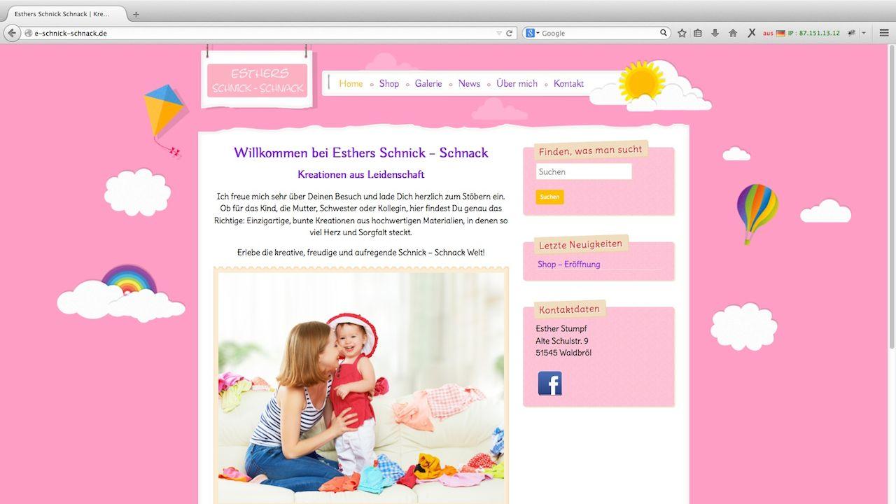 Esther Webdesign
