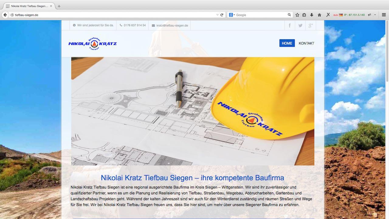 Kratz Webdesign