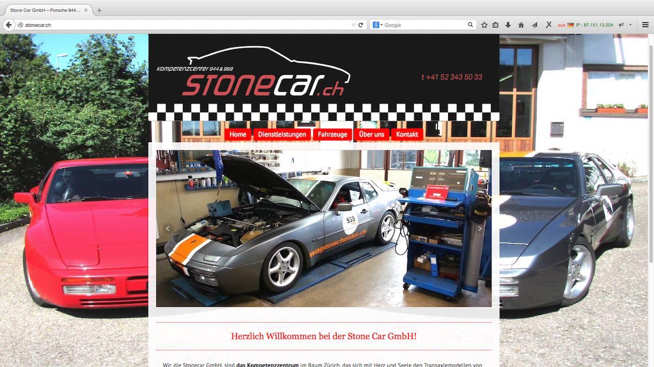 Stonecar Webdesign